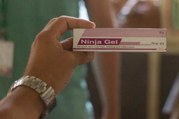 Tur att Ninja Gel finns.