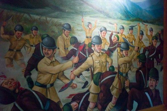 Nepals fruktade armé har sedan 2007 ett armémuseum.