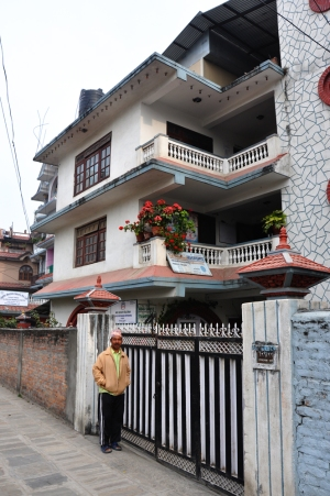 The house and Security Guard in Sinimangal