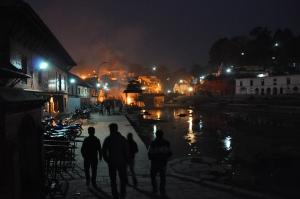 Night watchers -approaching hindu funerals