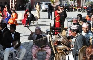 The Nepali folk music band.