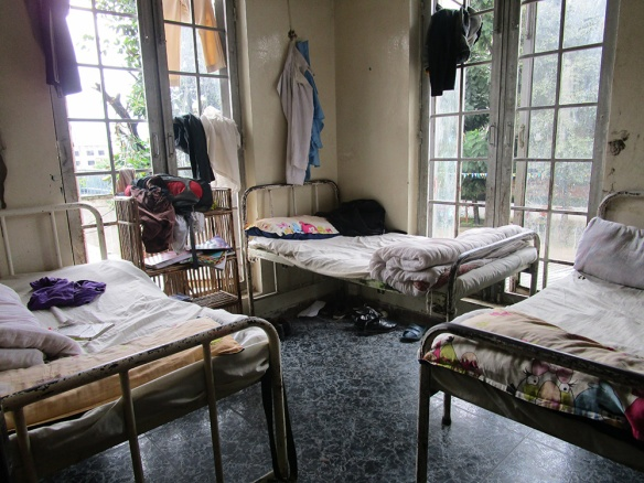 The clinic at the second floor.